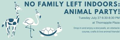 Animal Party at Thornapple Plaza!