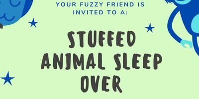 Stuffed Animal Sleep Over!