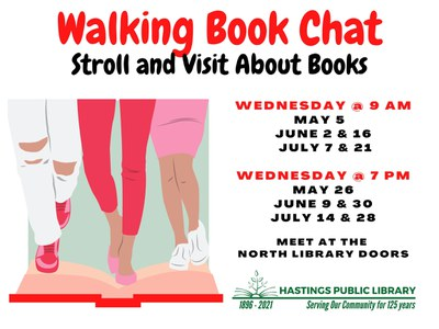 Walking Book Chat Evenings