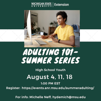 Adulting 101 with MSU Extension