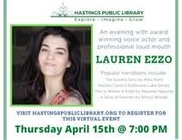 An Evening with Lauren Ezzo
