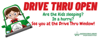 Drive-thru is Open