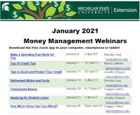 Financial Education from MSU Extension