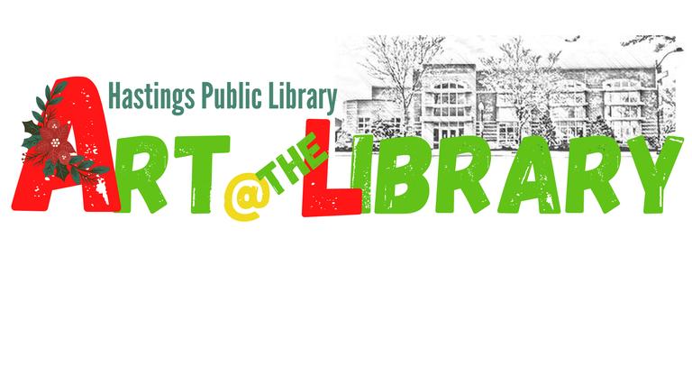 Art @ the Library Logo