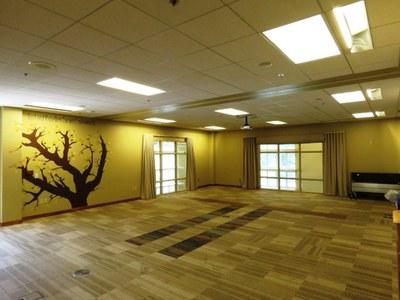 Community Room Empty